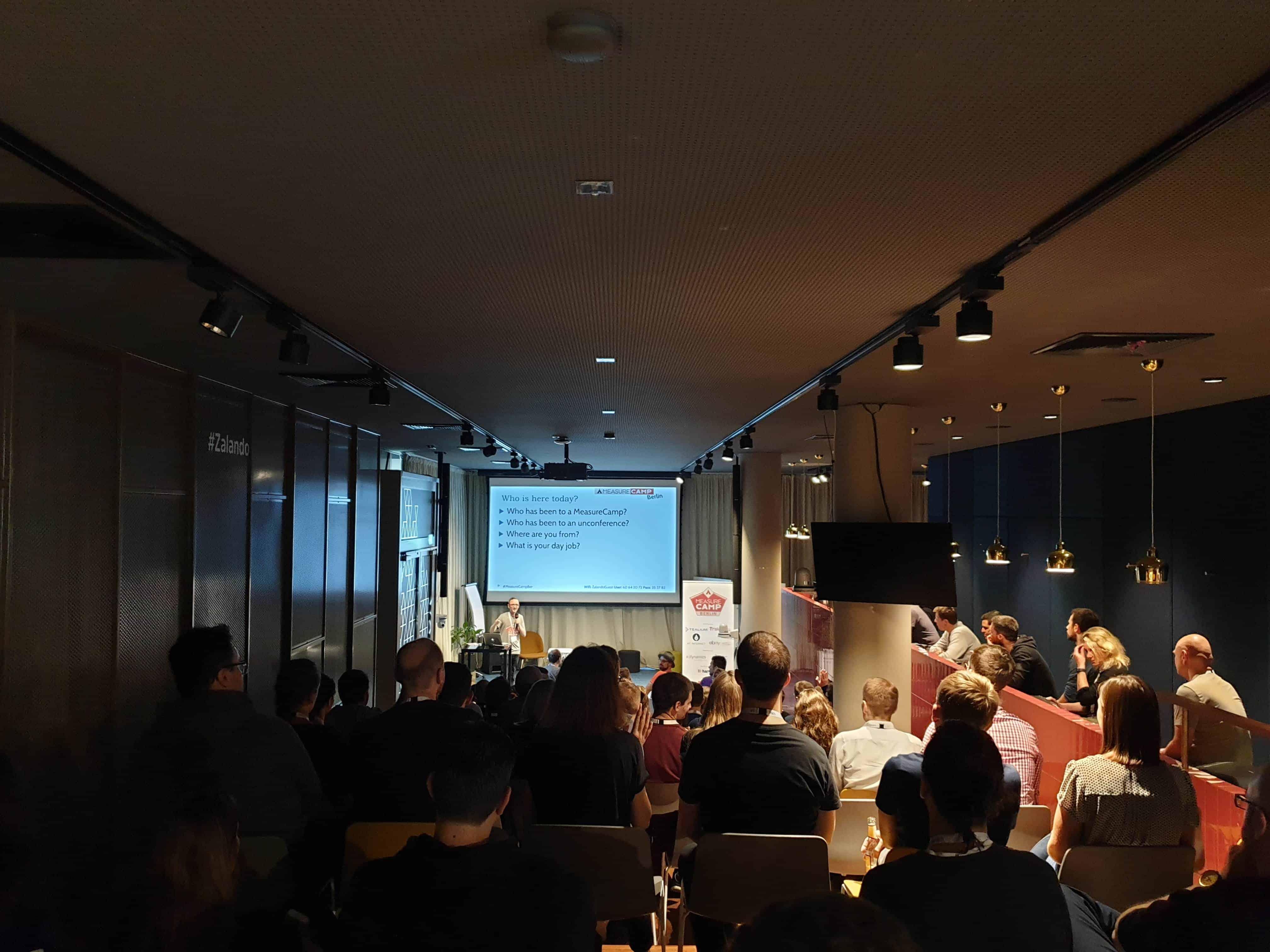MeasureCamp 2019 Session Raum