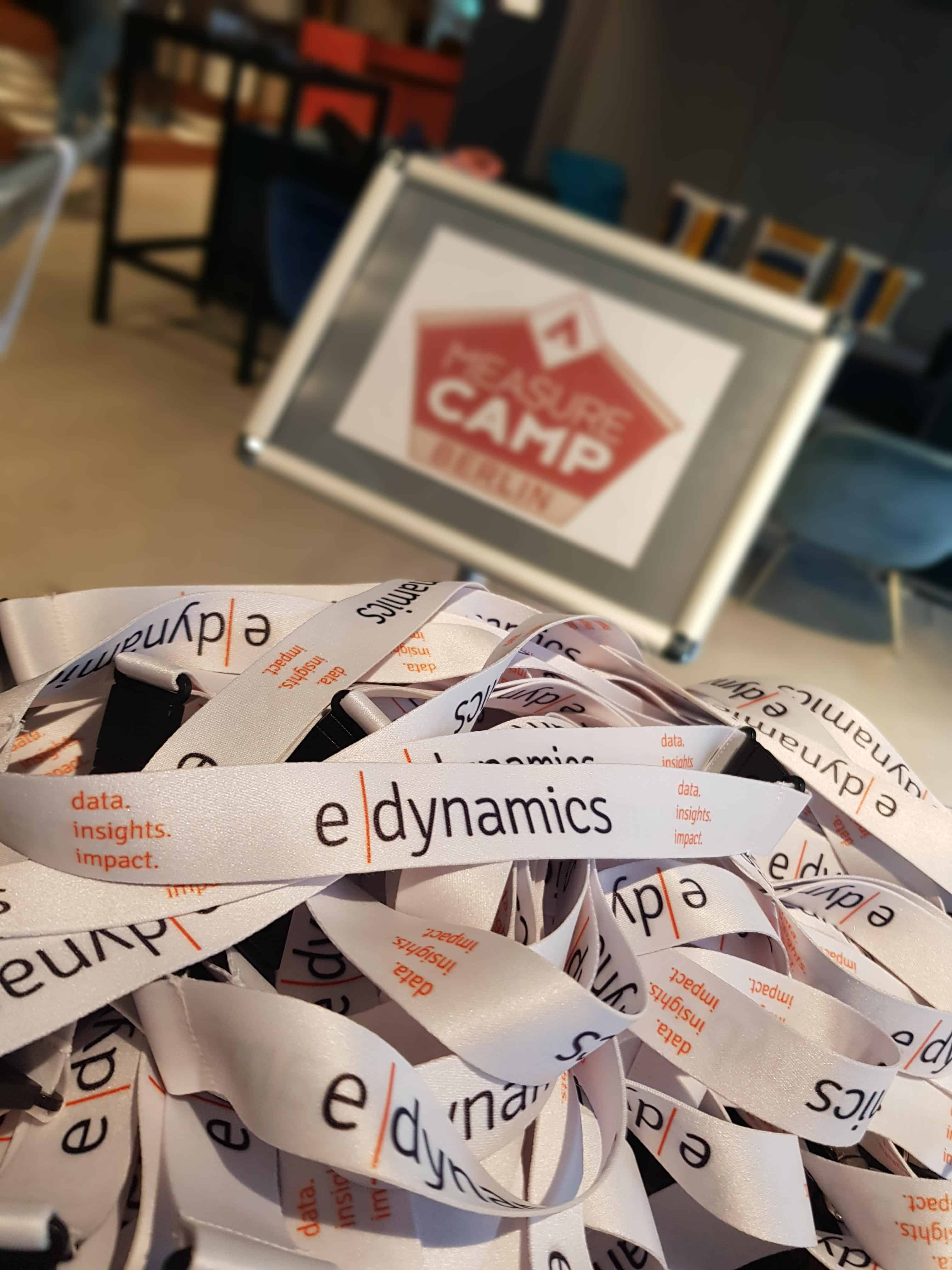 e-dynamics MeasureCamp Schlüsselbänder